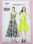 Vogue V8996 Sewing Pattern Misses'/Petite Dress -Lined/Princess Seams -Very Easy