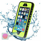 WATERPROOF DIRTPROOF SHOCKPROOF CASE FOR APPLE IPHONE SE 5C 5 5S 6 6s 7 &amp; 7 Plus <br/> 6000+ sold, 100% Waterproof, Retail Package, USA Seller