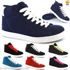 LADIES WOMENS GIRLS RUNNING TRAINERS SUEDE BLAZER GYM WALKING SPORTS SHOES SIZES