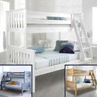 Atlantis Wood Triple Sleeper Bed 4ft Small Double Mattress and Colour Options