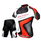 Cycling Bike Short Sleeve Clothing Bicycle Sportwear Suit Jersey + Shorts Pants