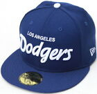 MLB Los Angeles Dodgers Script New Era 59Fifty Fitted Hat Royal Blue/White on Ebay