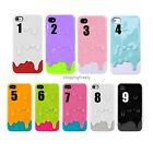3D Melt Ice-Cream Skin Protect Hard Case Cover For Apple iPhone 5 5G 8 Colors