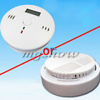 Home security Smoke Detector Fire Alarm CO Carbon Monoxide Gas Sensor Monitor Ne