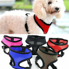 Soft/Vest Mesh Padded Puppy Pet Dog Harness Black Pink Red Blue Brown S/M/L/XL