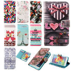 Pretty Leather Flip Card Clip Money Wallet Soft Case Cover For Apple For Samsung