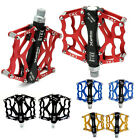 Alloy Fixie Mountain Bike Road Bike Bicycle MTB BMX Reflector Flat Pedals A Pair