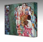 DEATH and LIFE by GUSTAV KLIMT Framed Canvas Fine Art Picture Print New