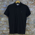 Volcom Bang Out Casual Short Sleeve Polo Shirt New - Black - Size: S/M