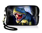 Dinosaur Neoprene Case Bag Pouch For Digital Camera Cell Phone Ipod touch Iphone