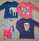 Girls Mini Boden Applique Tshirt Top 1-5-12 years Dog Horse Elephant Owl