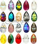 1 PC SWAROVSKI ELEMENTS 6106 Pear Pendant Crystal - All Sizes & All Colous