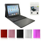 Leather Bluetooth Wireless Keyboard Case Cover With Stand for iPad 1,2,3,4 & Air