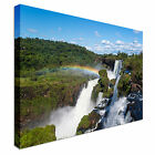 Iguazu falls, Argentina Canvas Art Cheap Wall Print Large Any Size
