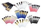 10pcs Makeup Brush Set Kit Stipple/Powder/Foundation/Eyeshadow/Blending various