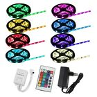 1-10M 3-33Ft Kit Color changeable LED Strip Ribbon Ceiling Counter Club Bar TV