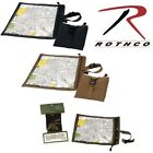 Black Camo Coyote Brown Tactical Waterproof Map Holder & Document Case Pouch