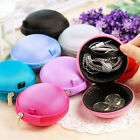 Hard Case Mini Design Headphone Earbud Carrying Earphone Storage Bag Coin Purse