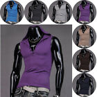Popular Multi Choose Men's Hooded Classic Vest Tank Top Blouse Athletic T-Shirts