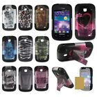 Samsung Illusion I110 Galaxy Proclaim S720C Hybrid T-Stand Armor Case Cover DN1