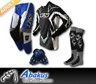ADULT MX JERSEY+PANTS+GLOVES*BLUE*-Dirt Bike Gear/Off-road/Motocross/BMX/MotoX