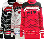 T49 New Women Kintted Plus Size Christmas Jumper Cardigan In 08-16