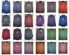 NWT CHAPS long sleeve Woven Casual Button-Front shirt Colors mens Cotton Blend