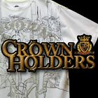 NEW AUTHENTIC MEN'S CROWN HOLDER  T-SHIRTS  NEW WITHOUT TAGS