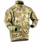 Stealth Waterproof Soft Shell Jacket Multicam MTP Army Cadet Airsoft Hunting NEW
