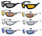 Внешний вид - 3 PAIRS Choppers 901 Padded Foam Sunglasses Motorcycle Riding Glasses COMBO