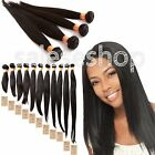 "Virgin unprocessed 6A Indian hair human hair weave STRAIGHT 10""-30"",100g/pc Hot"