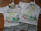 """Baby Boys """"little dino/cheeky mouse"""" T.Shirt & Shorts Set by Just Too Cute"""