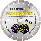 Spectrum DCX Double Six Double 6 Diamond Blade Stihl Saw Angle Grinder Blade