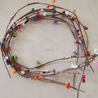 10Pcs Artificial Primitive Folk Pip Berry Garland Hair Hand Flower Decor 40CM