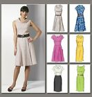 Vogue V8667 Sewing Pattern Misses'/Petite Dress - Lined Mid-Knee - Easy Options