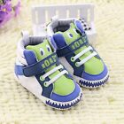 Infant Toddler Baby Boy High Top Crib Shoes Sneakers 0-6 6-12 12-18 Mths