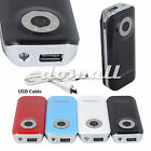 5200mAh 5600mAh Power Bank Backup Battery Charger For Iphone Galaxy S4 Cellphone