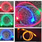 Lot Universal Micro USB Visible LED Data Sync Charger Charging Light Cable