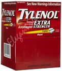 Tylenol Extra Strength 2 tablets Per Packet 500 mg Pain Reliever- Wholesale Lot!