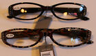 NYS Reading Sunglasses 1.75 Strenght Brown and Red Leopard Gorgeous Coloring