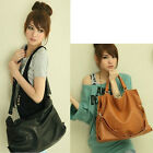 Eye-catching Popular Women ladies Shoulder Tote Hobo PU Leather Bag HandbagsUSHF
