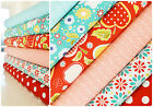 Riley Blake Bundle Quilting Cotton Fabric Apple of my Eye 6x FQ or F8 Craft Pack