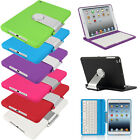 Cover Case with Swivel Rotary Stand w / Bluetooth Wireless Keyboard for iPad mini