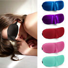 3D Soft Eye Sleep Mask Padded Shade Cover Travel Relax Sleeping Blindfold
