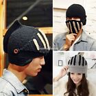 Fashion Cool Winter Warm Roman Knight Hat Gladiator Mask Knitting Cap 2 colors S
