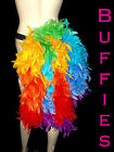 Rainbow / Gay pride / Burlesque / Festival / Bright Feather Bustle Belt 6-28