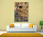 Japanese Art Asian Oriental Artwork Vintage Giant Print Poster, Various sizes