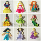 Disney Princess Brave tinkerbelle sleeping beauty tangled Hair Clips Bow