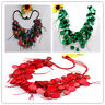 "Fashional Handmade Coconut Shell Round Beads Necklace 21""L More Colors Options"
