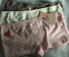 PRIMARK 3 PACK ULTIMATE COMFORT SEAMFREE SHORTS KNICKERS BRIEFS-BNWT